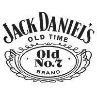 Jack Daniels Whisky Logo Spirituosen