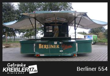 Bierwagen Insel Berliner Pilsener Getränke Kreißler