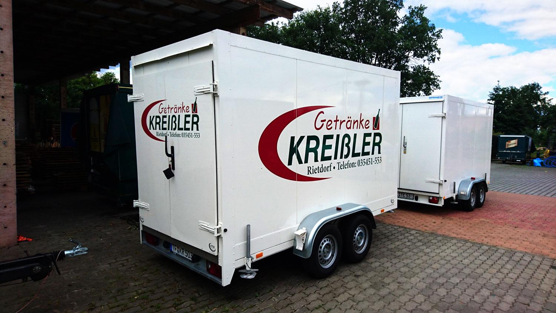 Kreissler17.de Kühlanhänger Hinten