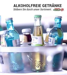 Hier finden Sie unser Sortiment für Alkoholfreie Getränke