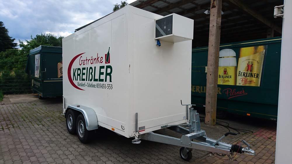 Kreissler17.de Kühlanhänger Vorne
